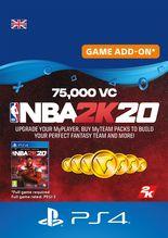 NBA 2K20 75000 VC