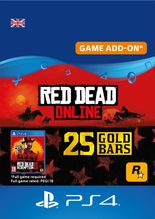 red dead online gold bars 25