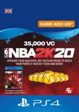 Image of NBA 2K20 35000 VC