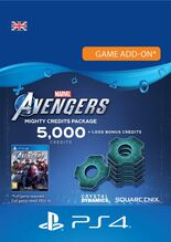 Image of Marvel Avengers Mighty Credits Pack 5000