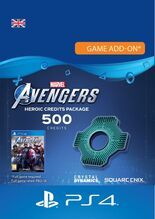 Image of Marvel Avengers Heroic Credits Pack 500