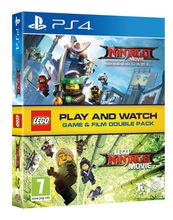The Lego Ninjago Movie Game and Film Packshot