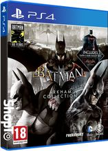 Batman: Arkham Collection Steelbook Edition Packsh