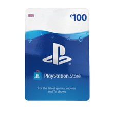 PlayStation Network Wallet Top Up £100