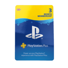 3 Month PlayStation®Plus Membership Packshot