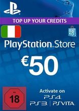 Sony PlayStation Wallet Top Up 50 Euro