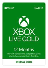Xbox LIVE 12 Months Gold