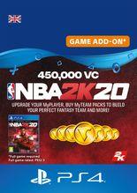 NBA 2K20 450000 VC