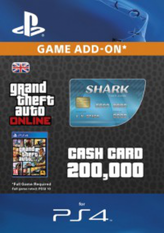 Image of GTA - Tiger Shark Cash Card $200.000
