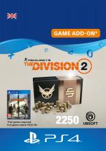 Tom Clancys The Division 2 2250 Premium Credits