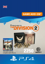 Image of Tom Clancys The Division 2 2250 Premium Credits