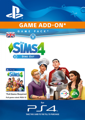 Image of The Sims 4 Dine Out