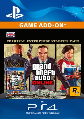 Image of GTA Online Criminal Enterprise Starter Pack