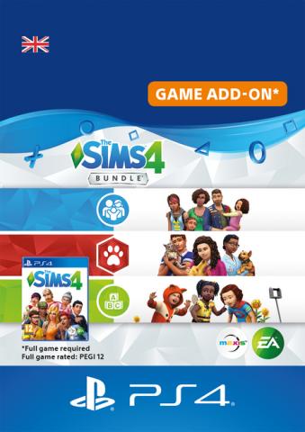 The Sims Bundle - Cats & Dogs, Parenthood, Toddler