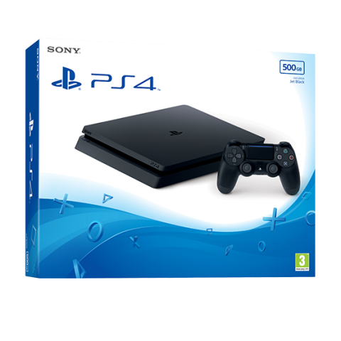 PS4 500GB Black Console