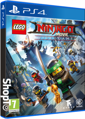 Lego The Ninjago Movie - Packshot