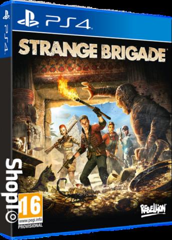 Image of Strange Brigade Inc Exclusive Novella