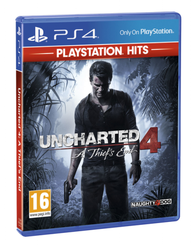 Uncharted 4: A Thief's End (PlayStation Hits)