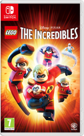 Lego The Incredibles - Packshot