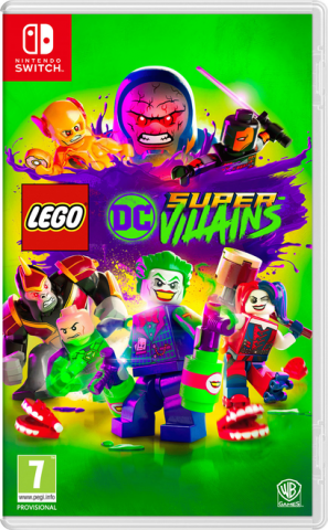 Lego DC Super-Villains - Packshot