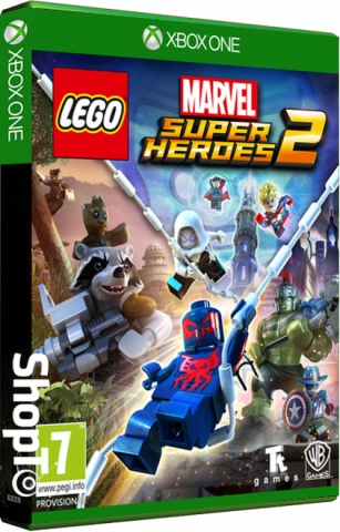 Lego Marvel Superheroes - Packshot