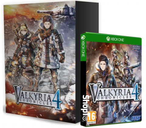 Valkyria Chronicles 4 Memoirs from Battle Edition