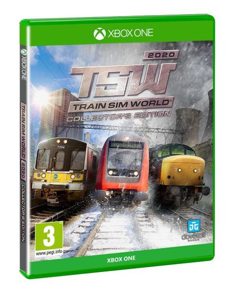 Train Sim World 2020 Collector's Edition Packshot