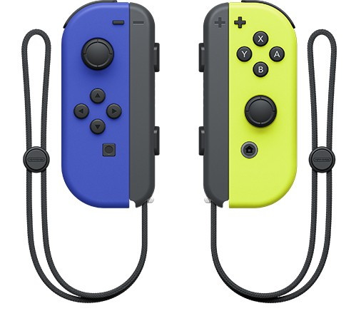 Joy-Con Pair Neon Yellow - Blue