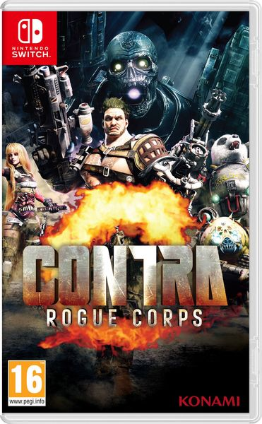 Contra: Rogue Corps Switch