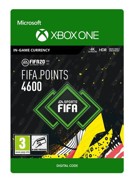 FIFA 20 ULTIMATE TEAM 4600 POINTS
