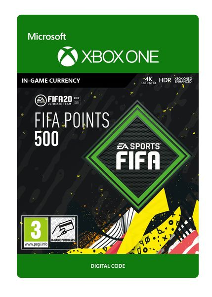 FIFA 20 ULTIMATE TEAM 500 POINTS