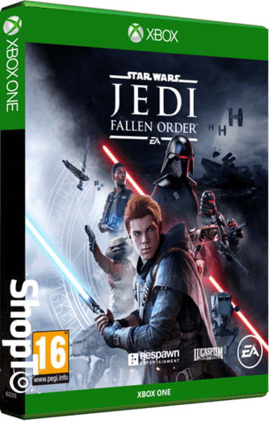 Star Wars Jedi The Fallen Order Packshot
