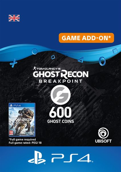 Ghost Recon Breakpoint 600 Ghost Coins