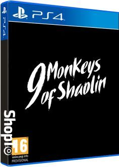 9 Monkeys of Shaolin Packshot