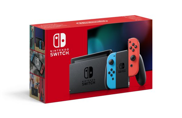 Nintendo Switch Neon Red - Neon Blue