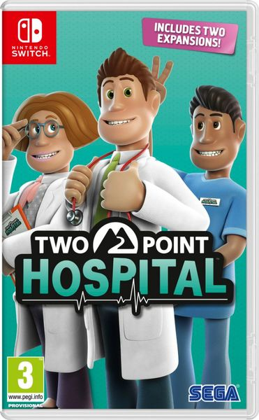 Two Point Hospital Packshot