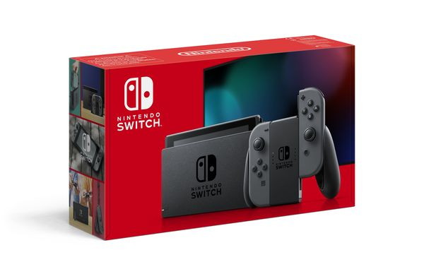 Nintendo Switch 1.1 Grey: Extended Battery Life