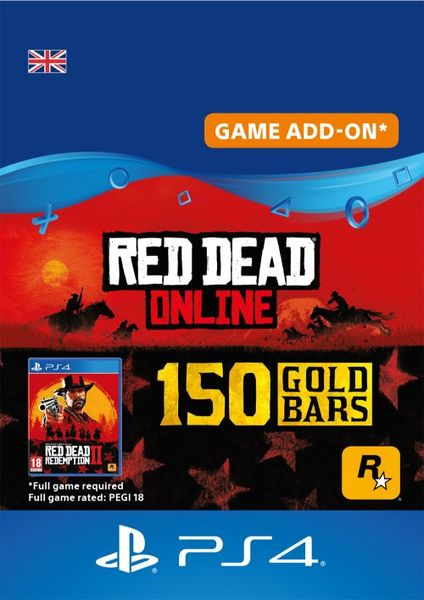 red dead online gold bars 150