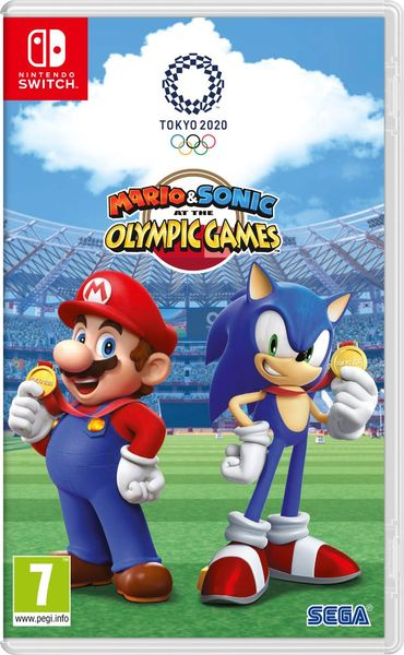 Mario & Sonic at the Olympic Games Packshot