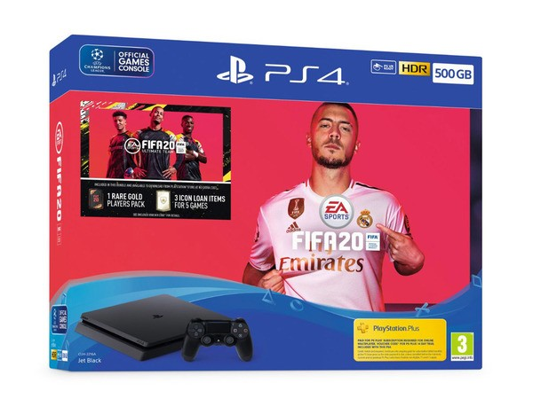 PS4 500GB Fifa 20 Console Bundle