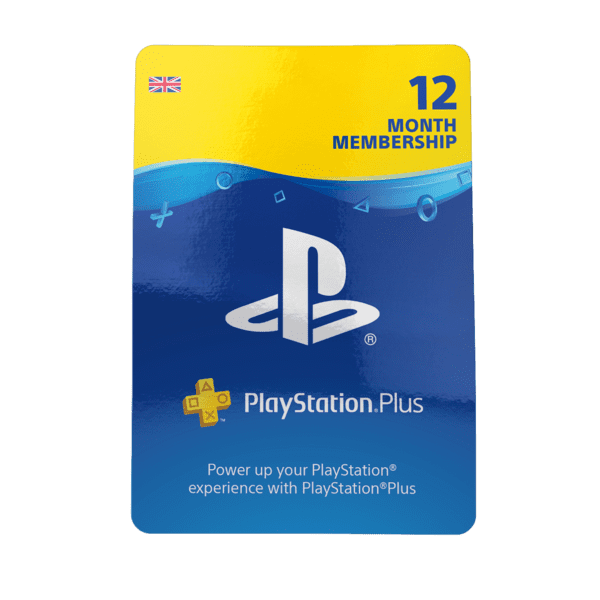 PlayStation Network Plus 12 Month Membership