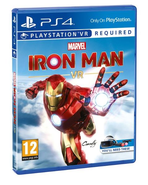 Marvel's Iron Man VR Packshot