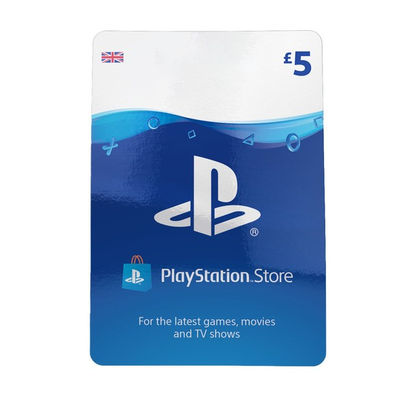 PlayStation Network Wallet Top Up £5