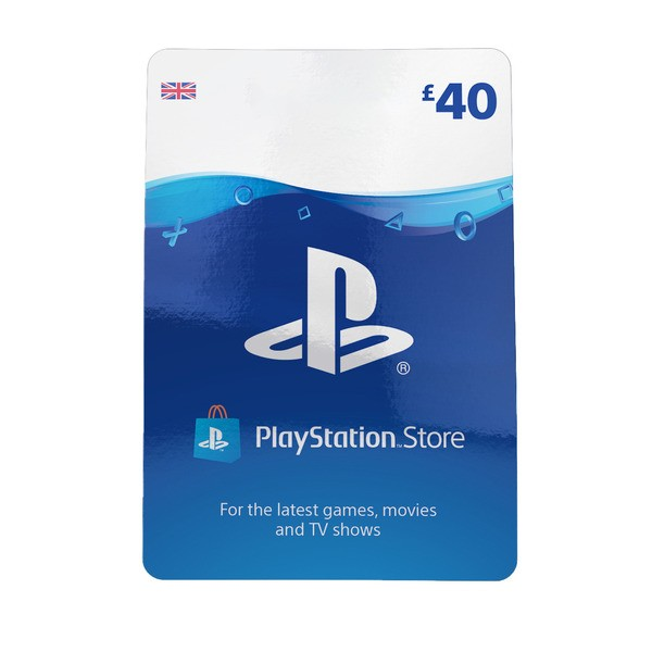 PlayStation Network Wallet Top Up £40