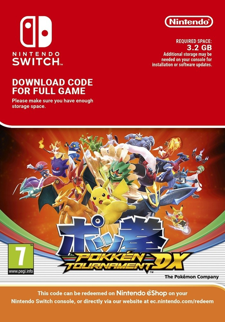 Pokken Tournament DX Switch Download Pack