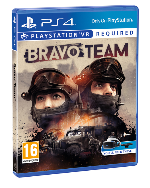 Bravo Team PSVR Packshot
