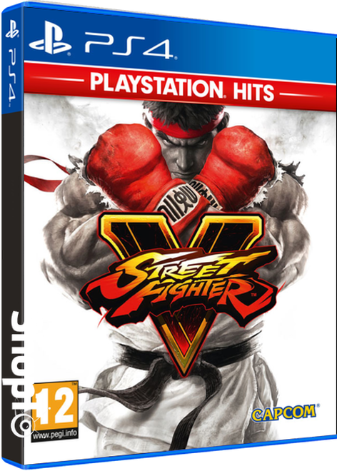 Street Fighter V Hits Packshot