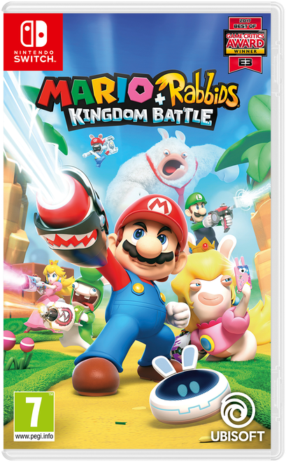Mario + Rabbids Kingdom Battle Packshot