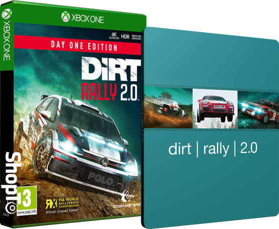 DiRT Rally 2.0 Day One Edition inc  Packshot