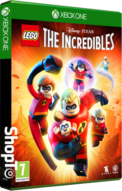 Lego Incredibles - Packshot